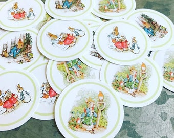 Beatrix Potter Peter Rabbit Sticker Labels