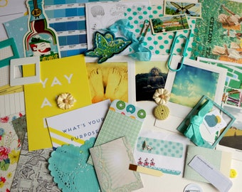 Follow the Path -  CRAFTY BITS - crafting kit with papers and embellishments