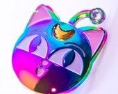 Magical Rainbow Luna P Enamel Pin