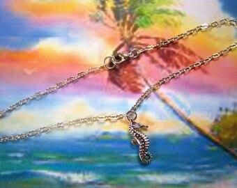 Seahorse Anklet Sterling Silver Ankle Bracelet