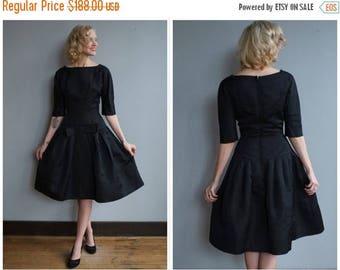 20% Off Sale // 1950s Dress // Black Tie Affair SUZY PERETTE Party Dress // vintage 50s dress