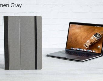 SECONDS - The Cartella Slim Case for 2016 Macbook Pro 15 - Linen Gray