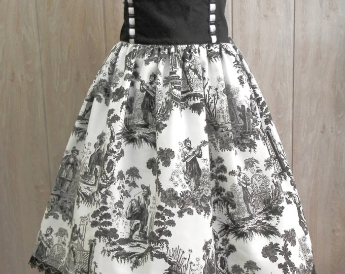 China Toile Classic Lolita Skirt