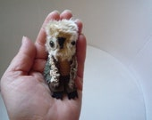 Finnegan  owl  , soft art textile  creature   by  Wassupbrothers, buho boho  friend, stuffed  doll , recycled scrappy ,home decor, miniature