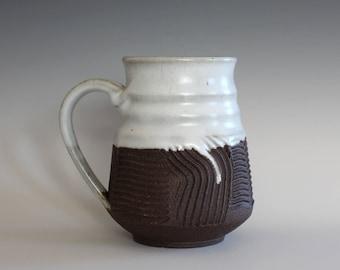 Unique Coffee Mug, 16 oz, handmade ceramic cup, handthrown mug, ceramic stoneware, pottery mug, ceramic coffee mug, ceramics and pottery