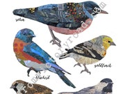 INSTANT DOWNLOAD For the Birds digital page