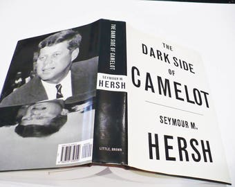 History, Jack Kennedy, The Dark Side of Camelot, First Edition, Full number line, Hardcover, Jacket, Copyright 1997. 498 Pg. Collectilble