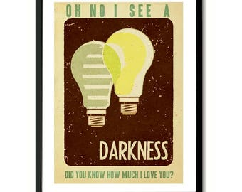I See A Darkness Bonnie Prince Billy inspired Art Print