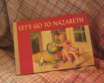 "1946's ""Let's Go To Nazareth"" picture book"