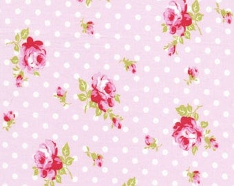 Buds in Pink (tw36) - DELILAH by Tanya Whelan - Free Spirit Fabric - By the Yard