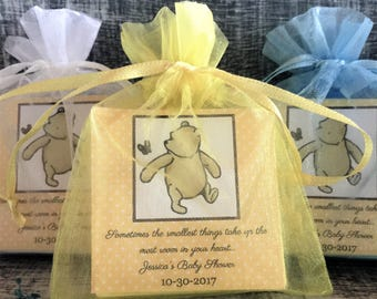 Winnie the Pooh Soap Favors:  Baby Shower Favors, Birthday Favors, Baby Sprinkle Favors, Winnie the Pooh Favors, Winnie the Pooh theme