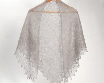 WOOL Lace Shawl,knitted lace wool scarf, wedding lace shawl, orenburg lace shawl