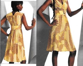 Vogue V1086 Designer Misses' Dress Tracy Reese Sewing Pattern 1086 UNCUT Plus Size 18, 20, 22, 24
