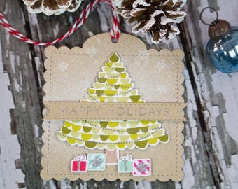 Gift Tags - Happy Holidays