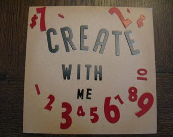 U Pick Vintage Store Sign Letters & Dollar Cent Symbols Red Black Many Sizes Make Signs Cards Price Tags General Store Gift Tags Mixed Media