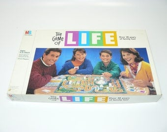 1991 The Game of Life - Vintage Classic Family Fun Board Game Complete Milton Bradley
