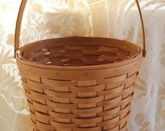 Longaberger, Basket, Measuring Basket, Gathering Basket, Storage