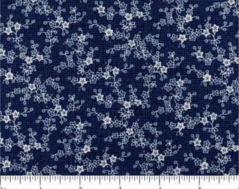 Windham Fabrics, Chambray Rose, Blue