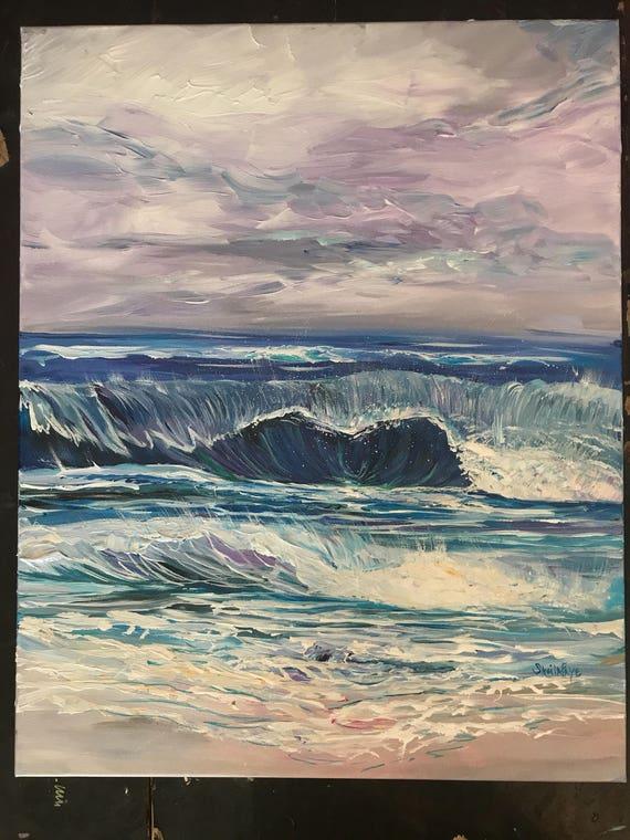 Irma, 20x16 Original Acrylic Painting by Sheila Faye.