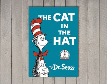 Dr. Seuss Book Cover Set - 8x10""