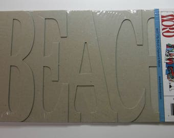 BoBunny Chipboard Album Beach