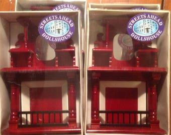 Miniature dollhouse  Fireplace gorgeous