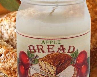 16 ounce Apple Bread Jar Candle