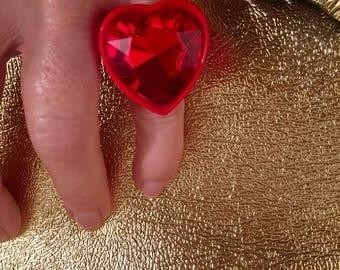 Extravagant Heart Ring