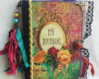 Gypsy Handcrafted Hardcover Junk Journal