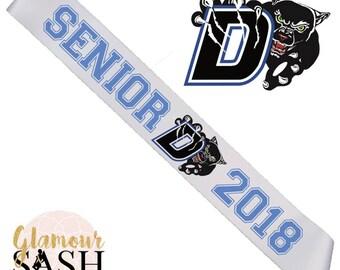 Senior Cheer Sash - Cheerleader Sash - School Sash - Cheer Senior - Senior Night - Dance Sash - Dance Team - Custom Sash - Personalized