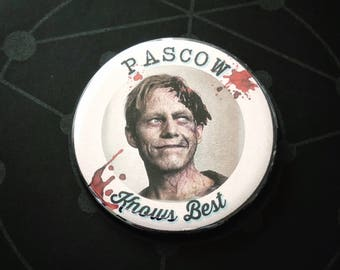 Should have listened to Pascow - Large Pin Back Button Pet Sematary