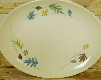 Franciscan Earthenware 13 3/4 inch Platter Autumn 1950s-60s