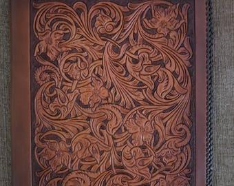Richly Detailed Leather Portfolio
