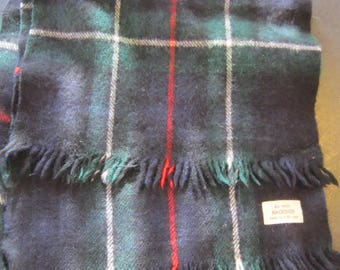 wool scarf scotland mackenzie wool scarf plaid wool