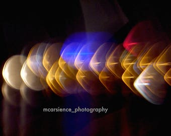 Light Birds Line - 5x7 Photo Print - Unframed