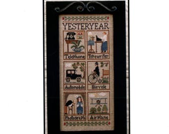 Little House Needleworks: Yesteryear - Cross Stitch Pattern