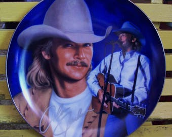 Alan Jackson plate, Everything I Love, Bradford Exchange collector plate