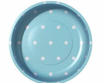 "Pick COLOR 4"" Magnetic Polka Dot Bowl at thecottageneedle.com Riley Blake Pleasant Home scissor holder needle nanny minder"