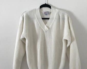 Vintage 90's V-Neck Sweater