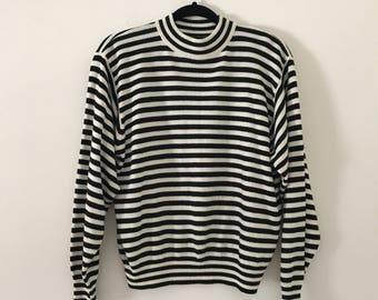 Vintage 90's Striped Sweater