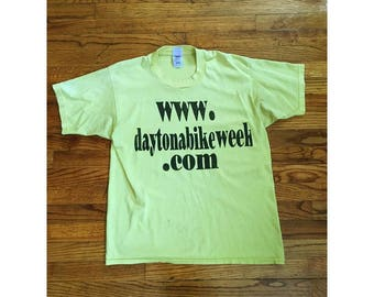 Yellow Daytona Bike Week Shirt