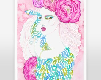 Art Print /  Serpentine