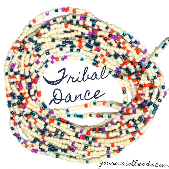 Waist Beads Custom fit ~Tribal Dance ~ YourWaistBeads.com
