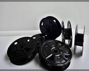 Film Reels, Film Projector Reels, Vintage Projector reels, 6 Kodak Home Movie Reels, Home Movie Décor, Oscar Nights