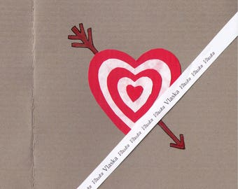 Valentine's card, downloadable cards, handmade cards, anniversary cards, love cards, artist trading cards