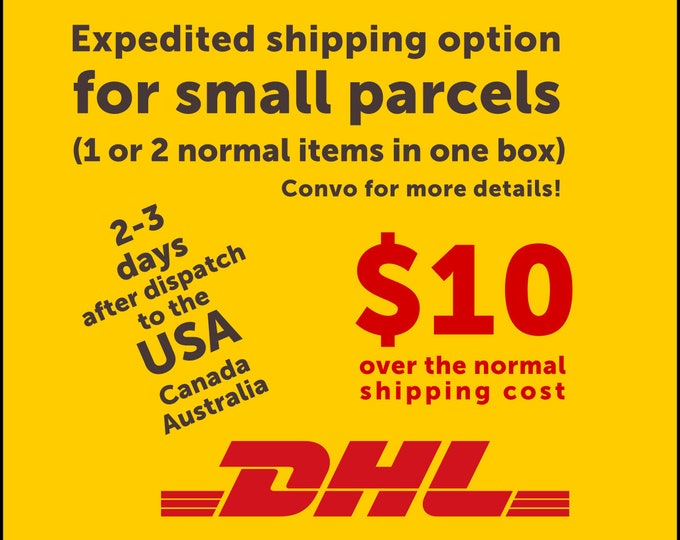 DHL Worldwide Express - Expedited shipping option for a small parcel