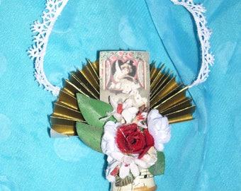 Victorian Vintage Valentine's Day Love Cupid Cherub Party Favor Decoration