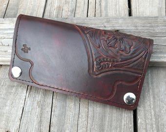 Sheridan style long wallet