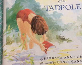 Tale of a Tadpole by Barbara Ann Porte childrens book