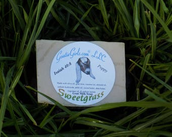 Sweetgrass Goat Milk Soap